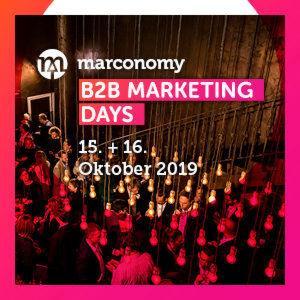 Siemens, Geberit und thyssenkrupp auf den B2B Marketing Days 2019