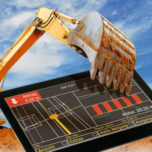 Touch Panel und Display mit einheitlichem Touch-Interface