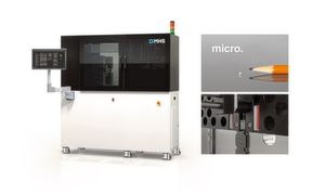 The M3 micro injection moulding machine for injection moulding, which needs no cold runner.
