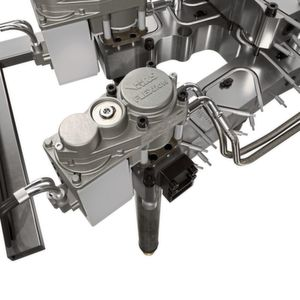 A widely used, servo-driven, valve gate hot runner system