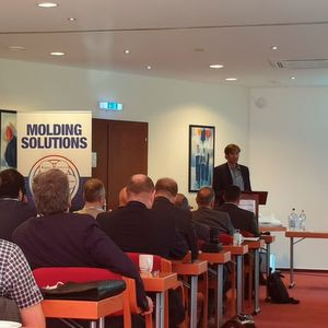 Dr Michael Neumann from Zimmermann Formenbau spoke about foam injection moulding.