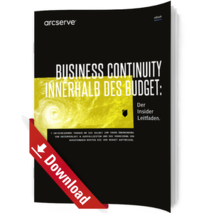 Business Continuity innerhalb des Budgets