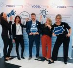 Das Team der Vogel IT-Akademie zeigte sich voller Tatendrang auf der CLOUD 2019 Technology & Services Conference in Bonn.