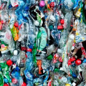 Only 16 % of the plastic waste generated in Germany is recycled there.