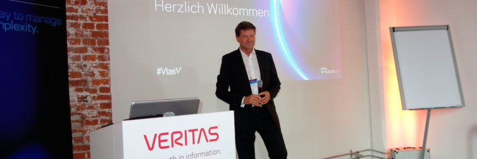 Martin Böker, Vice President (Interim) & Director Channel DACH bei Veritas
