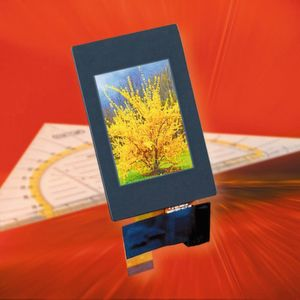 IPS-TFT-Display mit 240 x 320 Bildpunkten