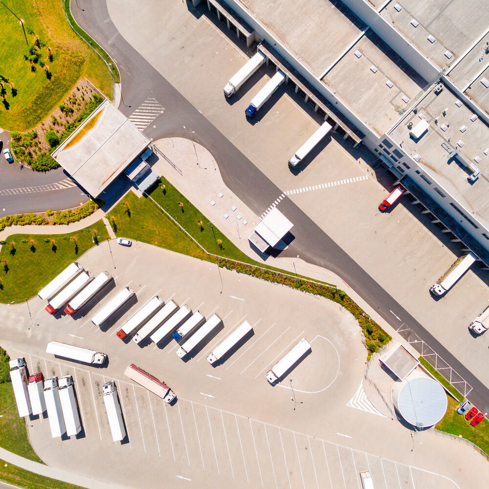 Companies use logistics properties for goods storage, order picking and distribution. (Source: