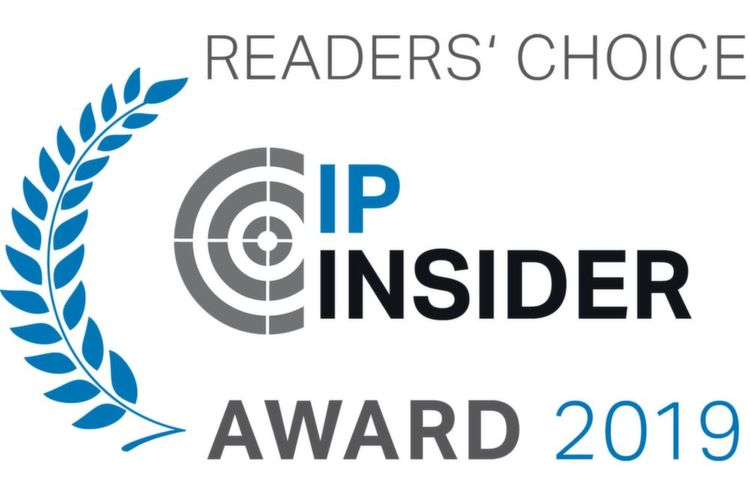 Die IP-Insider Readers' Choice Awards 2019.