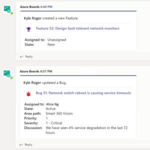 Azure Boards App für Microsoft Teams