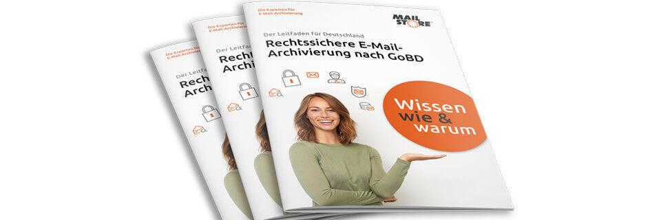 Kostenlos zum Download: Leitfaden zur Revisionssicherheit geschäftlicher E-Mail-Kommunikation.