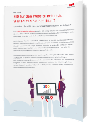 SEO-Checkliste für den Corporate Website Relaunch im B2B
