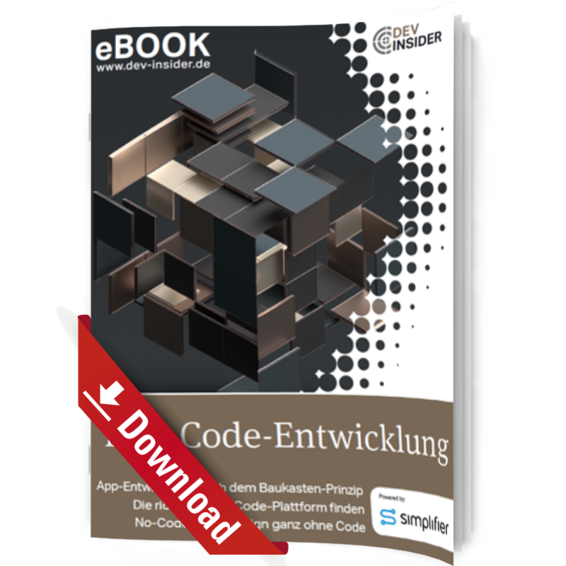 eBook Low-Code-Entwicklung