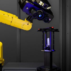 3D scanner measures small parts and complex free-form surfaces