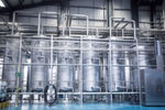 CIP system in a brewery: Eisele push-in connectors come into daily contact with splashing water and chemicals used for cleaning the systems.