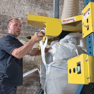 Put an end to drudgery: Bulk bag filler boosts pale ale malt packing output with reduced labour