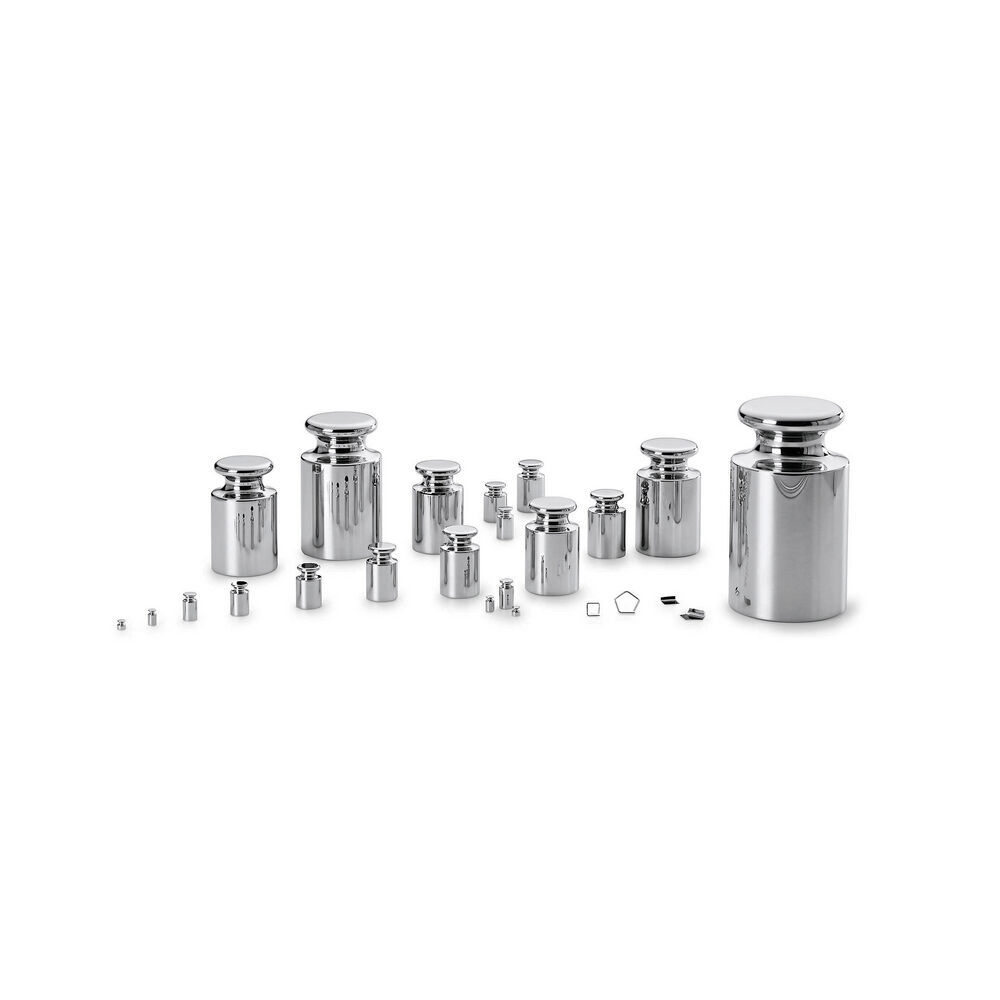 Mettler Toledo offers a wide range of stainless steel test weights from 50 µg to 5000