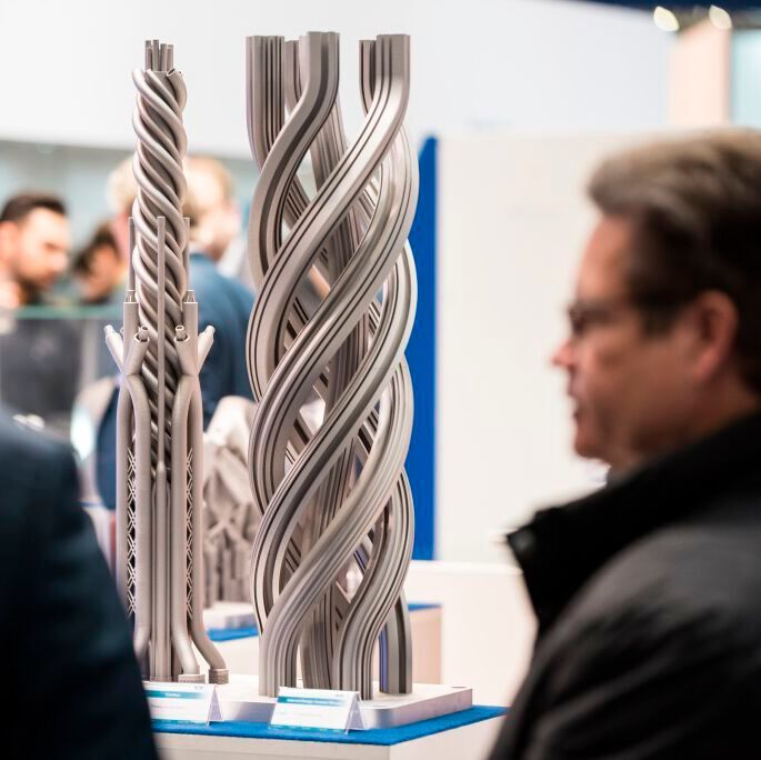 At Formnext 2019, most of the exhibiting companies were from China, USA, the UK, Italy, France,
