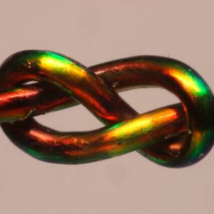With the help of color-changing fibers, MIT researchers develop a mathematical model to predict a knot's stability.