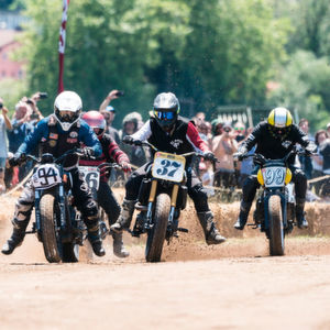 Indian pusht Flat Track in Europa