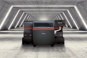 The Mimaki 3DUJ-553 full-colour 3D printer.
