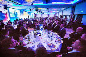 Over 400 guests got together to discuss the future and celebrate success.