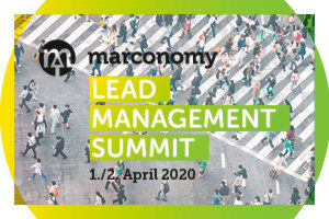 marconomy Lead Management Summit am 1. und 2. April 2020