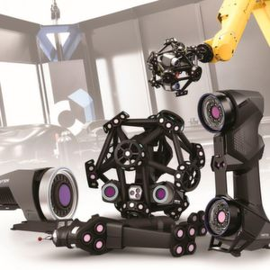 Creaform at Hanover: manual and robot-mounted 3D scanners