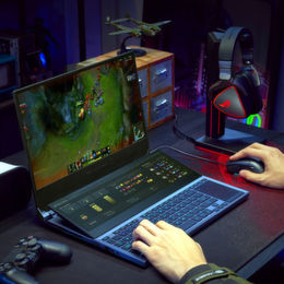 Gaming-Notebook mit RTX Super und Dual-Display