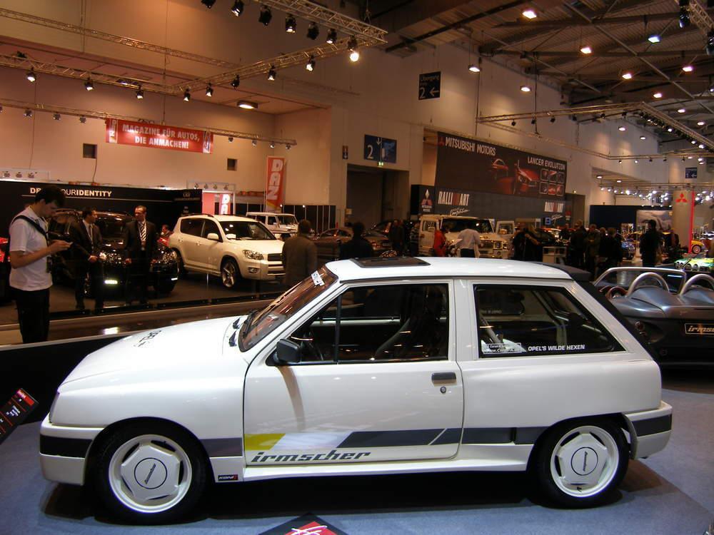 Opel Tuner Irmscher Feierte In Essen Seinen 40 Geburtstag Unter