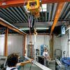 Fertigungsvorgaben sichern durch den Einsatz von Elektrokettenzügen