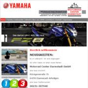 motorrad center darmstadt mit yamaha und bmw. Black Bedroom Furniture Sets. Home Design Ideas