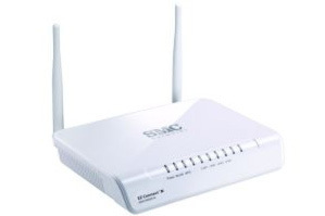 EZ Connect N Wireless Access Point (SMCWEBS-N) von SMC Networks ist auch Repeater und Ethernet-Switch