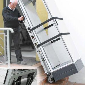 elektrischer treppensteiger f r bequemen schaltschranktransport. Black Bedroom Furniture Sets. Home Design Ideas