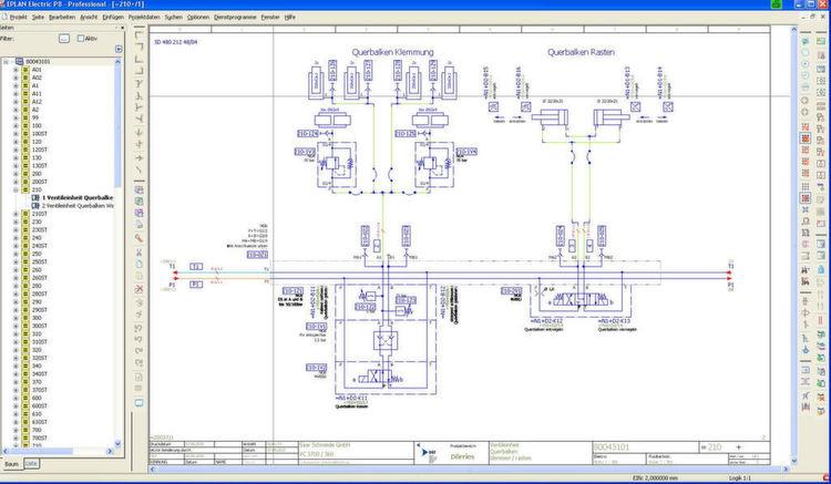 Darstellung einer hydraulischen h henverkettung in eplan for Eplan login