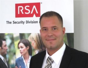 Stefan Rabben, Business Sales Manager, RSA