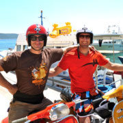 "Vespa-Adriamania: ""The Blood, Sweat & and Tears""-Crew 2010"