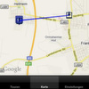 Tracking & Tracing per I-Phone-App