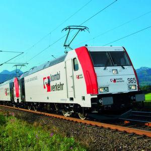 """Von der Einführung CO<sub id=""""ForP_F02F003E-D9E6-B8C6-70DBC3095961B0EB"""">2</sub>-freier Schienentransporte erwartet sich Kombiverkehr weitere Wachstumsimpulse. Bild: Kombiverkehr"""