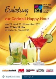SPS/IPC/DRIVES 2011 - Cocktail Happy Hour