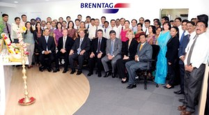 Chemical Distributor Brenntag Opens New Indian Head–Office