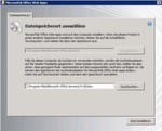 Abbildung 3 - Installieren der Office Web Apps in SharePoint 2010.
