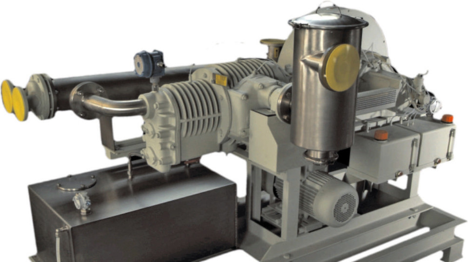 The design of the Saurus939 piston vacuum pumps is essentially simple, but backed by innovative technical features.