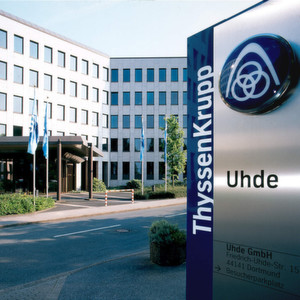 German company ThyssenKrupp Uhde signed an agreement to build plants for the mongolian Government.