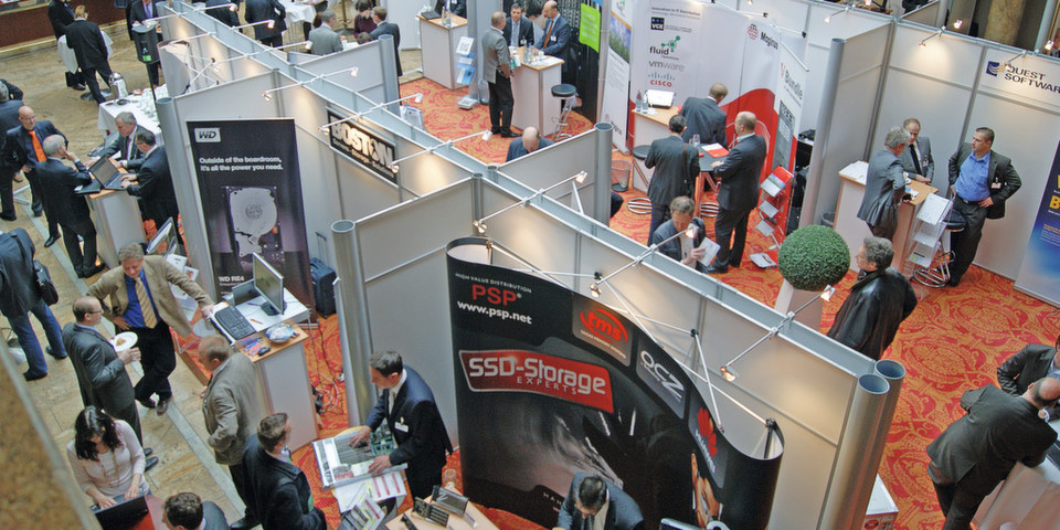 Knapp 900 Teilnehmer besuchten die STORAGE & DATAMANAGEMENT Technology Solution Days 2012.