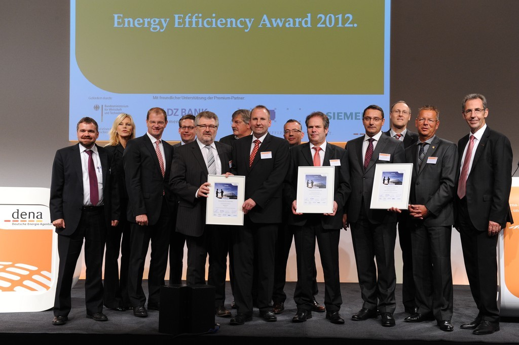 Harting belegt in Berlin den 1. Platz um den internationalen Energy Efficiency Award 2012 der Deutschen