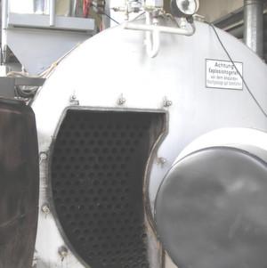 Dampfkessel in der Industrie