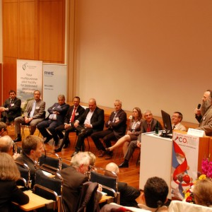 Carbon capture and utilisation: Discussion at the end of the first conference day.