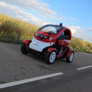 Renault macht Elektro-Twizy zum Feuerwehrauto