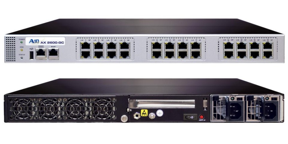 Exclusive Networks bietet ab sofort Application Delivery Controller der AX-Serie (hier AX 2600-GC) von A10 Networks an.