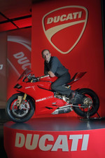 Claudio Domenicali, General Manager der Ducati Motor Holding.